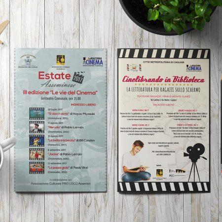 """Estate Asseminese"" e ""Cinelibrando in Biblioteca"""