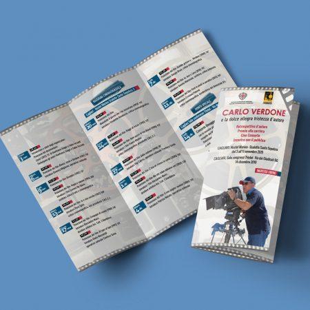 Brochure Carlo Verdone