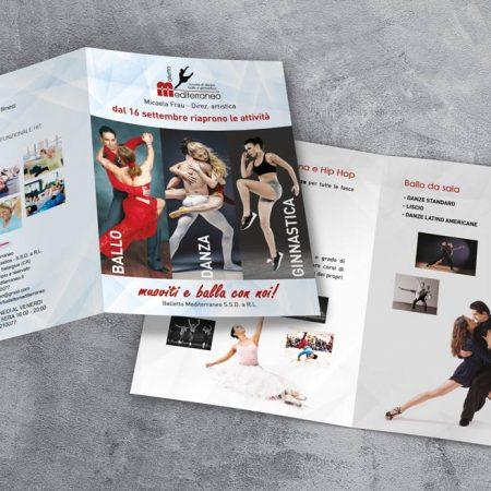 Brochure Scuola di Danza Balletto Mediterraneo