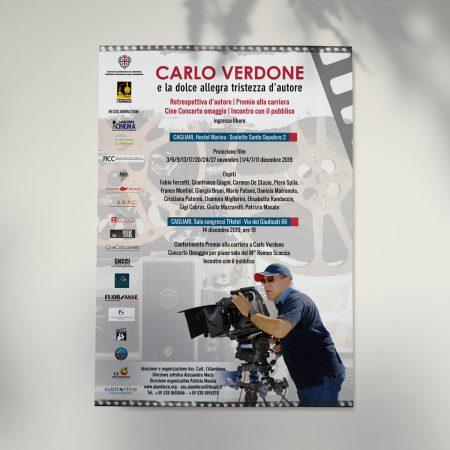 Locandina Carlo Verdone